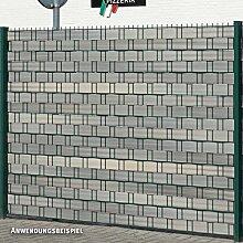 Videx Sichtschutzstreifen für Doppelstabmatten,