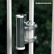 Videx-Sonnenschirmhalter für Balkongitter, verzinkt, Ø 35mm