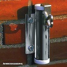 Videx-Sonnenschirmhalter für die Wand, verzinkt,