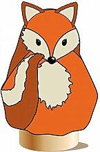 Videx Winterschutz-Vlieshaube Fuchs 'Freddy', orange