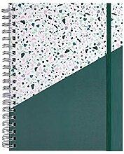 VIDOO 2020 A4 Coil Zeitplan Notebook Wöchentlich