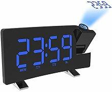 VIDOO Wake-Up Light Digitaler Projektionswecker
