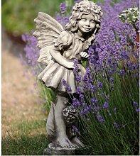 Vidroflor Flower Fairy VANILLEBLUME, Steinguss