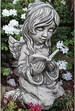 Vidroflor Gartenfigur | Engel ARELLA | mit Buch |