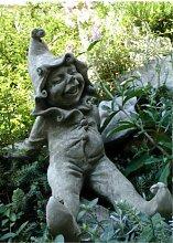 Vidroflor JIMMY, Steinguss Gartenskulptur,