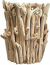VIE Naturals Pflanzgefäß, Treibholz, groß,
