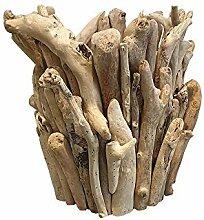 VIE Naturals Pflanzgefäß, Treibholz, klein,