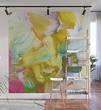Viele gefühle abstrakte malerei wandbild home