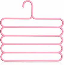 vielseitige Magic Kleiderbügel Hängende Hose Rack Multi-Layer-Hose hängende Hose Rack-D