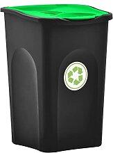 VIENDADPOW Abfallbehälter Mülleimer mit