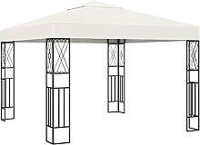 VIENDADPOW Garten Balkon Pavillon 3×3 m Creme