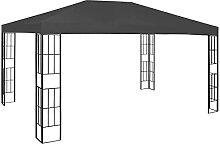 VIENDADPOW Garten Balkon Pavillon 3×4 m Anthrazi