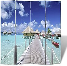 VIENDADPOW Raumteiler Raumteiler klappbar 160 x