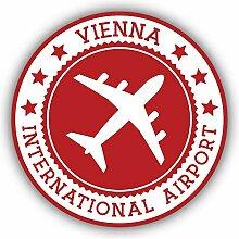 Vienna City Airport Emblem - Self-Adhesive Sticker