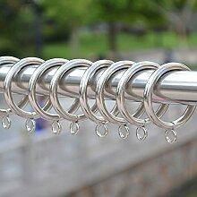 vientiane Bügeleisen Vorhangringe, 12 Stück