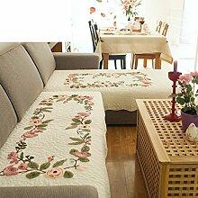 Vier Jahreszeiten,Allgemeine,Stoffe,Sofa-Handtuch/Modernen Minimalistischen Sofas Handtuch/Sofa-Handtuch/Sofa/Sommer Rutschfeste Sofa-matte-B 160x110cm(63x43inch)