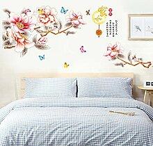 Vierblättrige Stroh-Tapete für Wohnzimmer