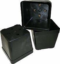 Viereckcontainer 13x13x12,5cm (50Stück)