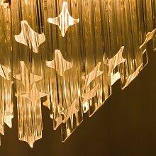 Vierstufige Italienische Murano Glas Astra