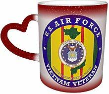 Vietnam Veteran Farbwechsel Sternenhimmel Becher