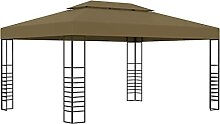 Vigleco Pavillon 3x4 m Taupe 180 g/m²