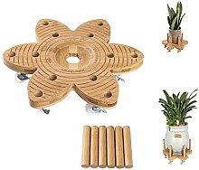 Vigordream Pflanzenroller mit Rädern, 35,6 cm,