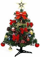 vigvog einfach aufzubauen 45cm Künstliche Kiefer grün Weihnachtsbaum Sets Hardcover Weihnachtsbaum mit Laternen, plastik, 60 cm