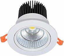 Viktion 2 Sets LED Scheinwerfer Deckenleuchte LED Arbeitsscheinwerfer 3W 7W 10W 15W 30W Deckenspot weiß (7)