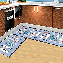 Viktion Anti Rutsch Küchenteppich läufer