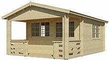 Vikträ Gartenhaus Johnny A 40 ISO Blockhaus