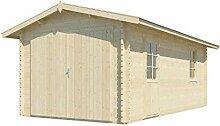Vikträ Gartenhaus Nora I 40 ISO Garage Blockhaus