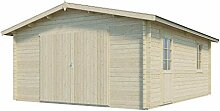 Vikträ Gartenhaus Svea 40 ISO Garage Blockhaus