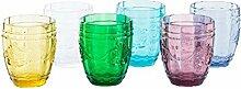 Villa d'Este Syrah Set Wassergläser, Glas,