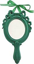 Villa D'Este Home Tivoli 2301815 Hand-Kosmetikspiegel, Grün