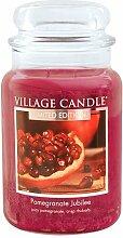 Village Candle Jubiläum Granatapfel große