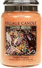 Village Candle - Kerze, Duftkerze - Confetti