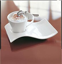 Villeroy & Boch 2 x New Wave Cappuccinoset