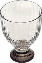 Villeroy & Boch Artesano Original Gris Großes aus Hochwertigem Kristallglas in Grau, 12 cm Weinglas, Porzellan, Weiß, 10 x 10 x 12.5 cm