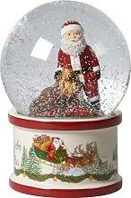 Villeroy & Boch Weihnachtsdeko Schneekugel Santa
