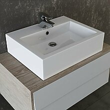 VILSTEIN© Keramik Waschbecken Aufsatz-Waschbecken