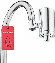 Viltaro Wasserfilter Wasserhahn | Edelstahl |
