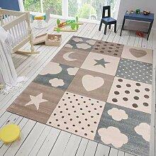 VIMODA Kinderteppich Teppich Kinderzimmer