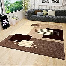 VIMODA Moderner Designer Teppich für Wohnzimmer