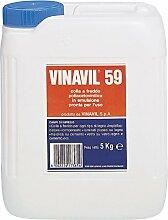 VINAVIL 1081159Aufkleber acetovinilico, weiß,