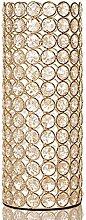 VINCIGANT Deko Vase Gold, Goldene Vase Dekoration