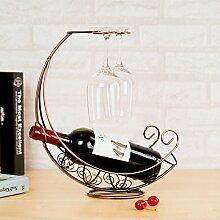 Vine Shelf Home High-End-Weinglas Rack auf den