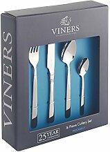 Viners Piccadilly Besteck-Set, 16-teilig,