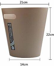 VING Plastic Trash dosen,Portable Runde offen top