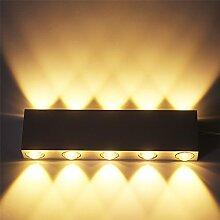 VINGO® 10W LED Wandleuchte Innenleuchte Wandlampe