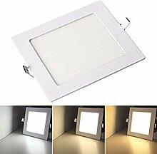 VINGO® 1x 9W Ultraslim LED Panel Einbaustrahler